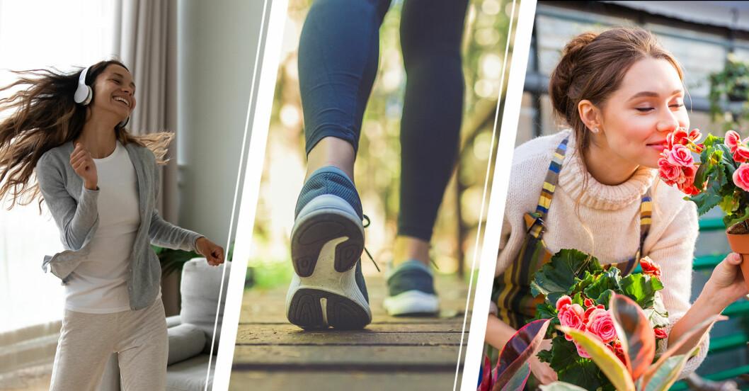 10 sätt att röra på sig – för dig som hatar att träna