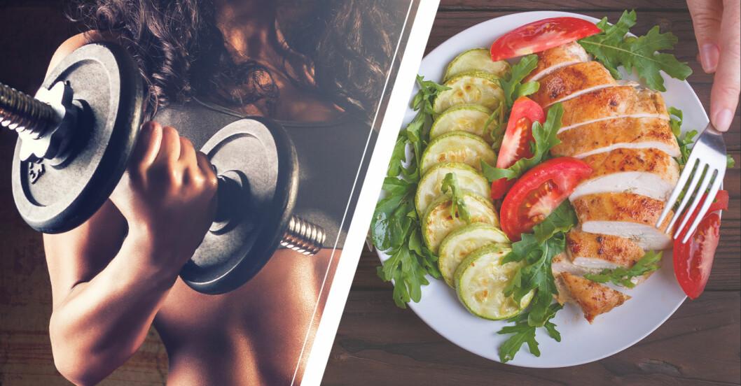 I 16 weeks of hell tränar man hårt och äter strikt