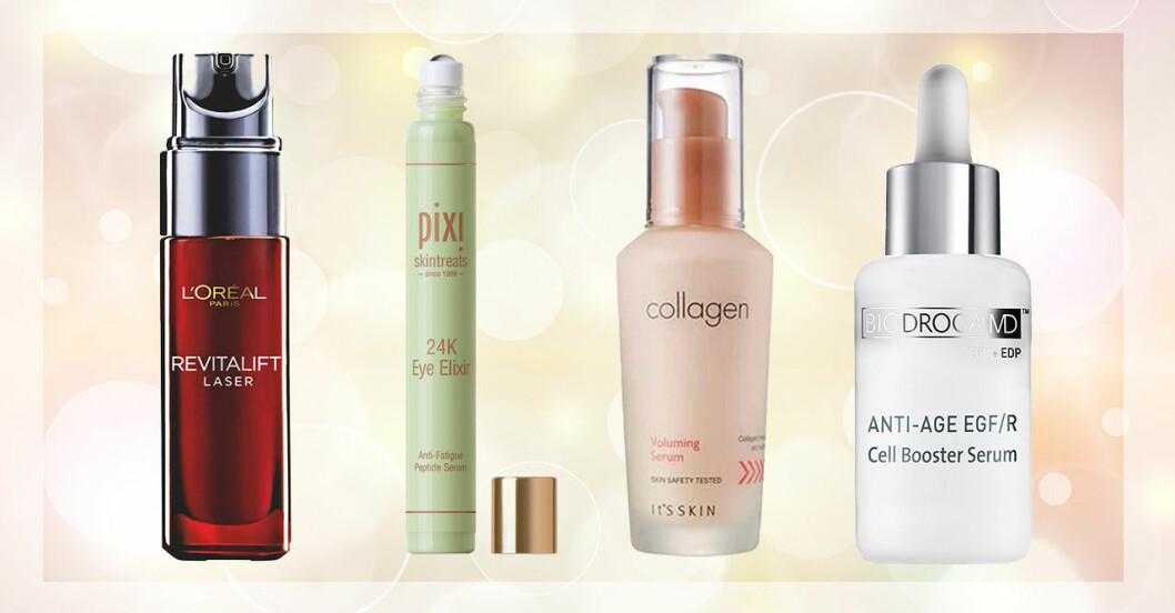 8 anti-age serum för alla hudtyper och plånböcker