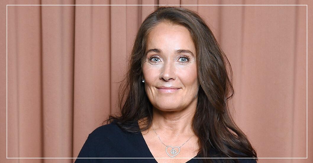 Agneta Sjödin, folkkär programledare.
