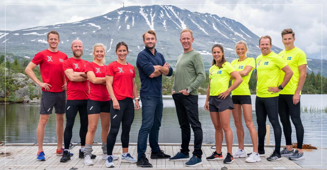 Alla tävlande i Sverige mot Norge säsong 2.