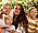 Mamma Angelica med sina tre barn Isabelle, Leon och Billy