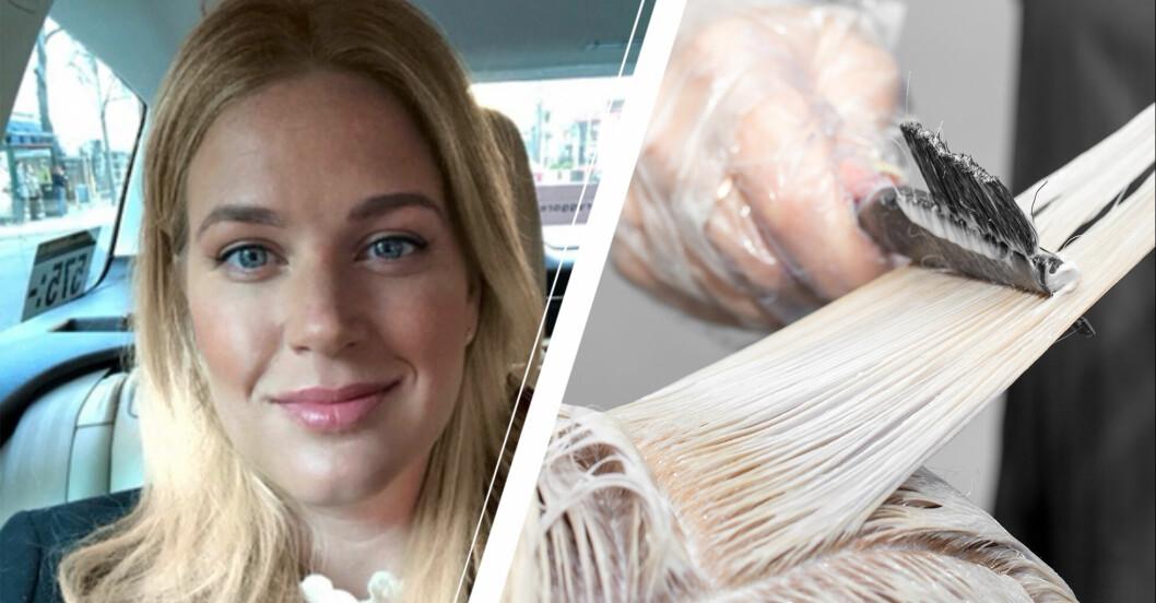 Amanda Ålenius/ Hårblekning.
