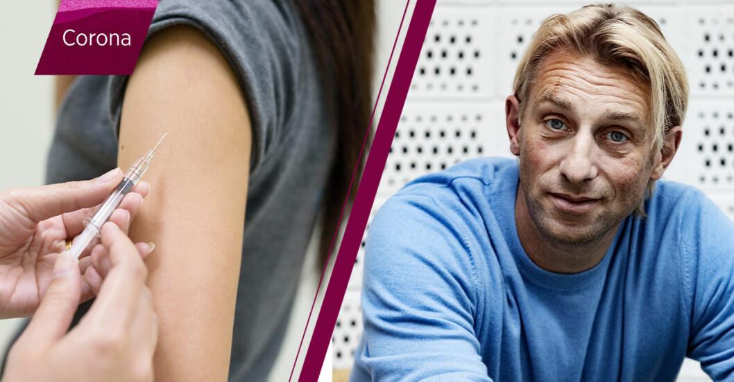 Anders Hansen om coronavaccin