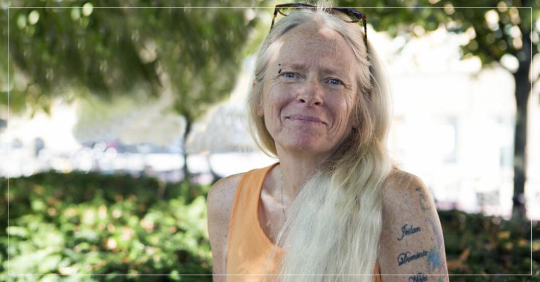 Anette Lykkegaard levde som hemlös i flera år.
