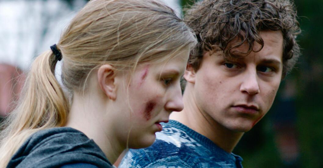 Charlie Gustafsson och Adina Romare
