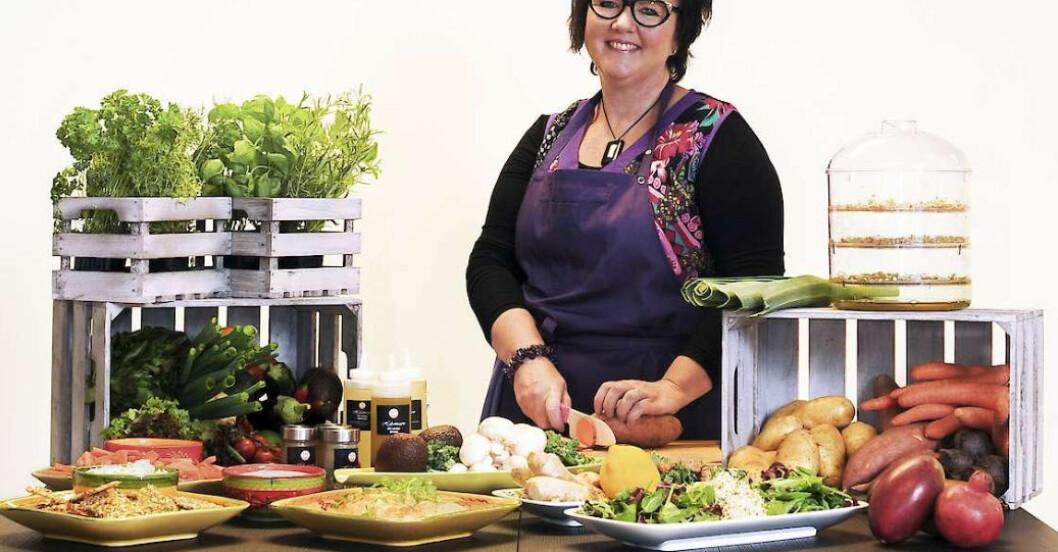 Ann Welin Mår bättre efter att ha börjat äta rätt mot sin IBS.