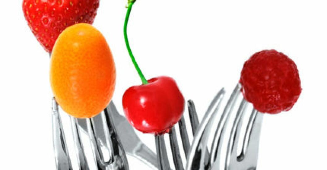 Ät så färgglatt som möjligt, då säkrar du intaget av antioxidanter!
