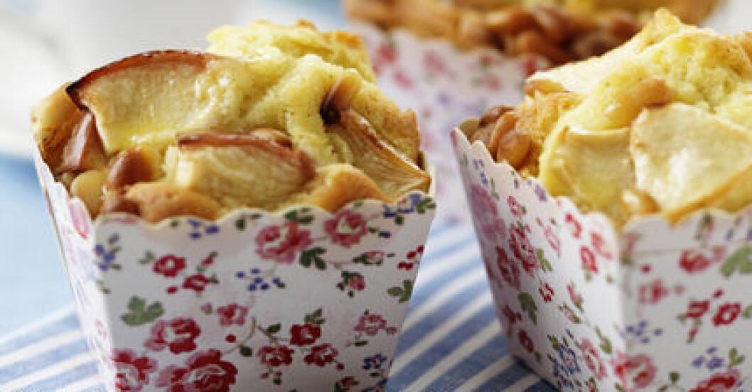 MåBra:s äppelmuffins med pinjenötter blev genast lite nyttigare...
