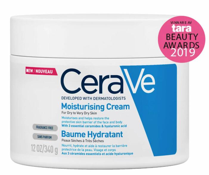 Återfuktande creme från CeraVe.