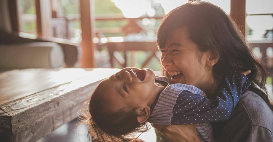 Att samtala med småbarn är bra – även om du inte förstår svaret.