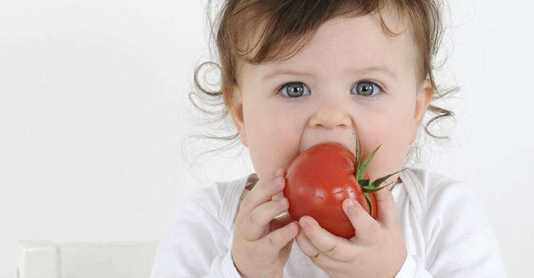 Kan mitt barn vara vegetarian?