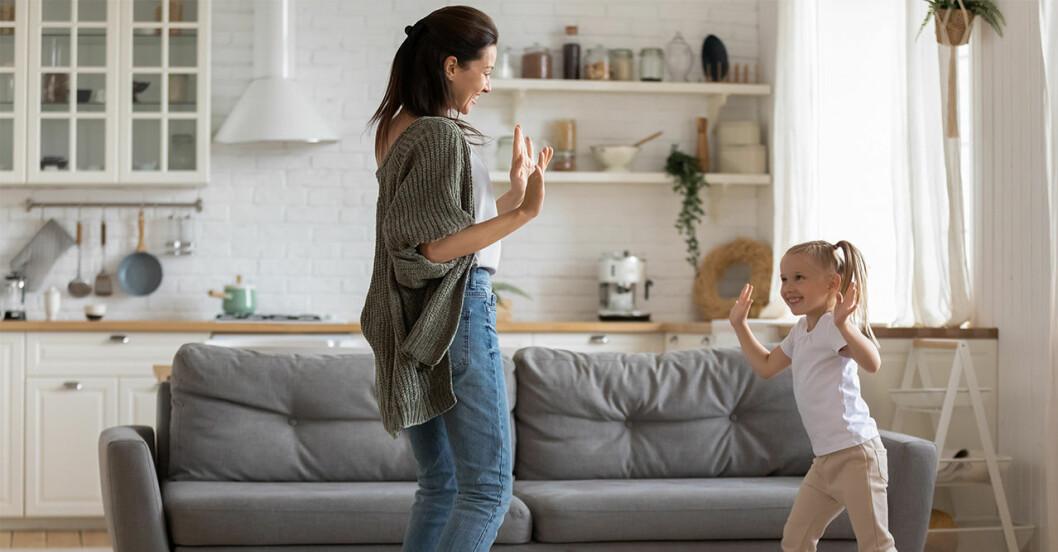 Att röra på sig är en hälsosam vana barn kan ta med sig in i vuxenlivet