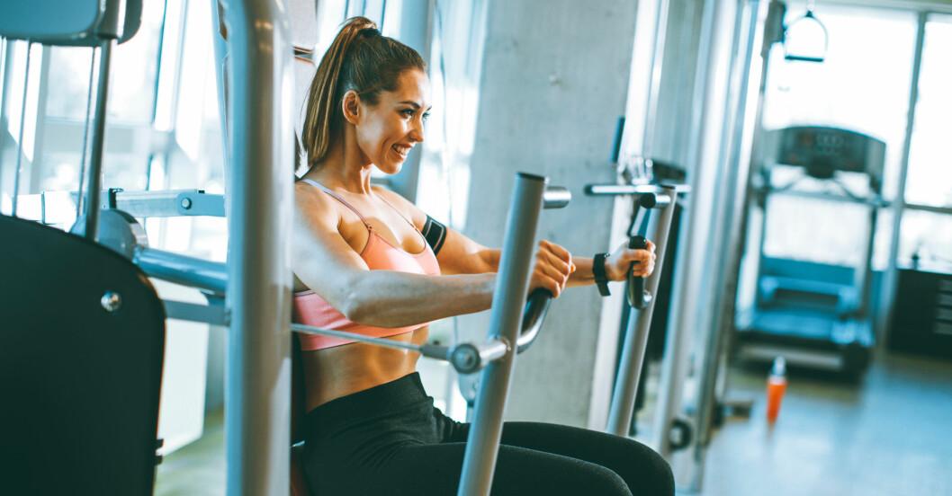 bästa gymmaskinerna: bröstpress