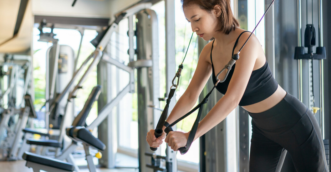 Bästa gymmaskinerna: kabelmaskin