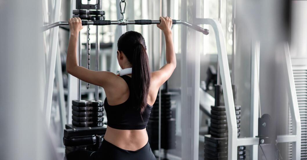 bästa gymmaskinerna: latsdrag