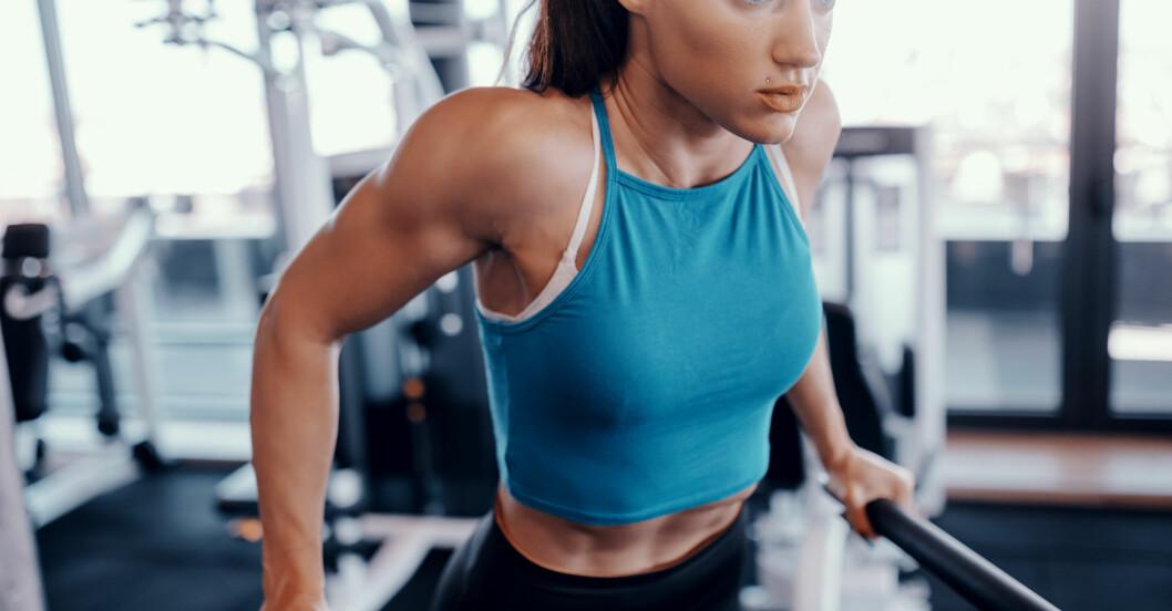 Bästa gymmaskinerna: Pull ups/dips