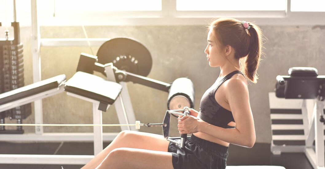 Bästa gymmaskinerna: sittande rodd
