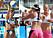 Beachvolleyboll, traditionella tävlingstrosor och nyare shorts.