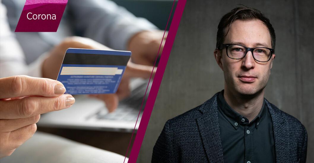 Björn Appelgren, ansvarig för folkbildning hos Internetstiftelsen.