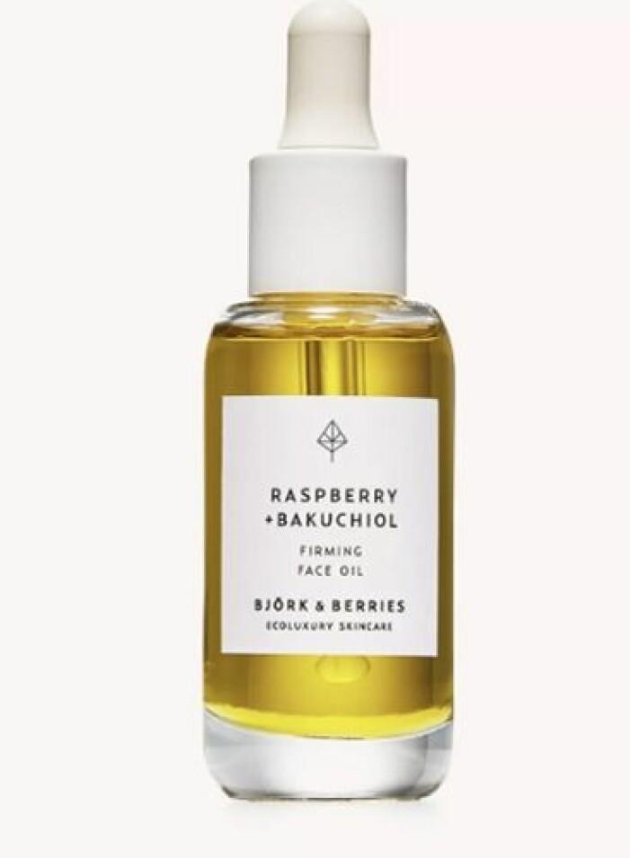 björk and berries bakuchiol face oil