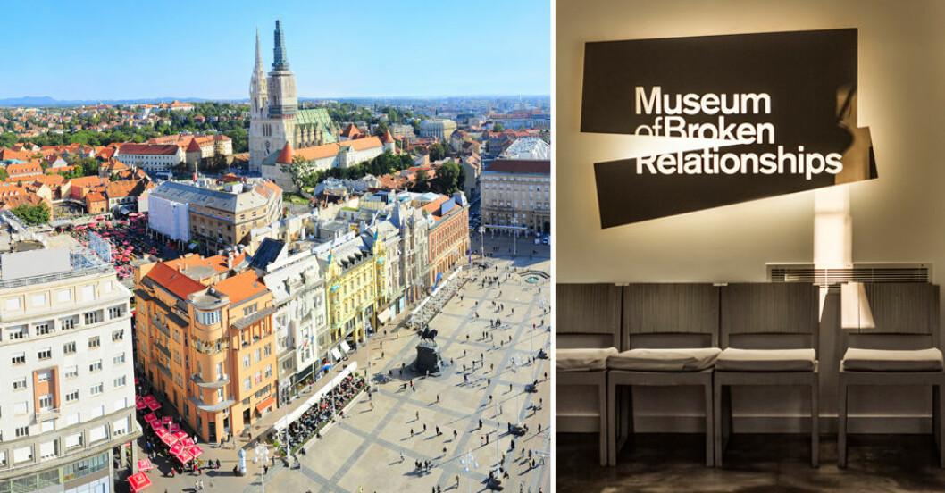 Museum of Broken Relationships i Zagreb.