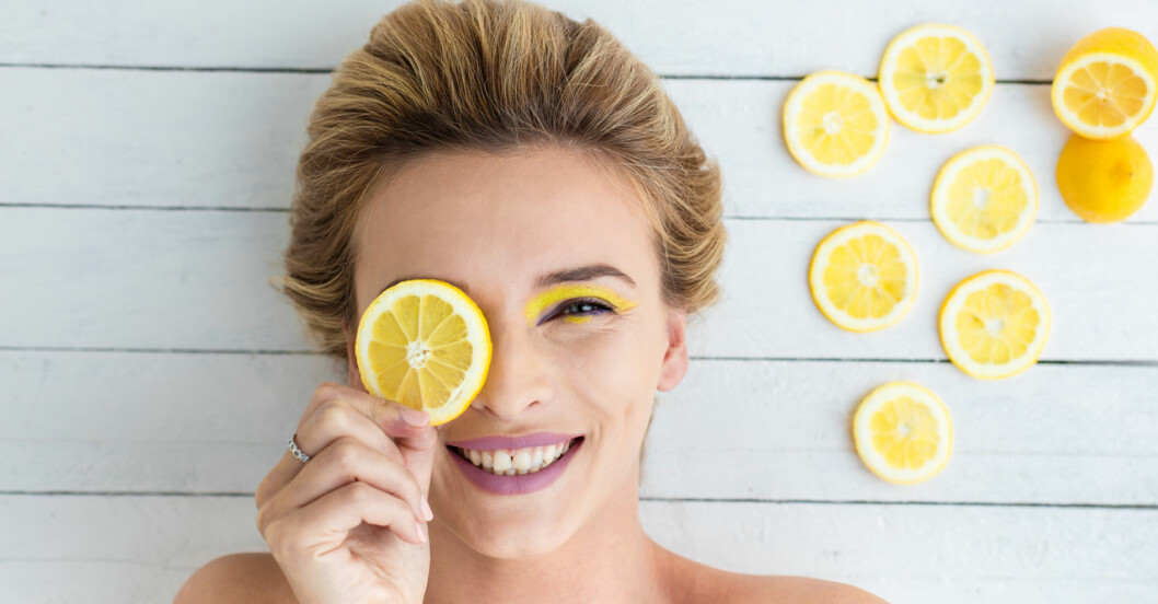 C-vitamin är bra för huden!