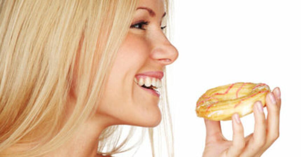 """""""Sötsaker gör att magsäcken slappnar av - och du kan äta mer"""", säger norska forskare."""