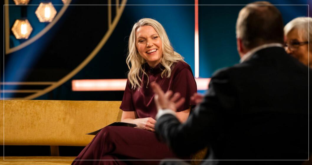 Carina Bergfeldt gör en till säsong av sin talkshow i SVT.
