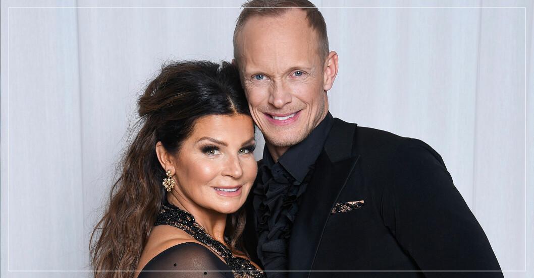 Carola Häggkvist och Tobias Carlsson