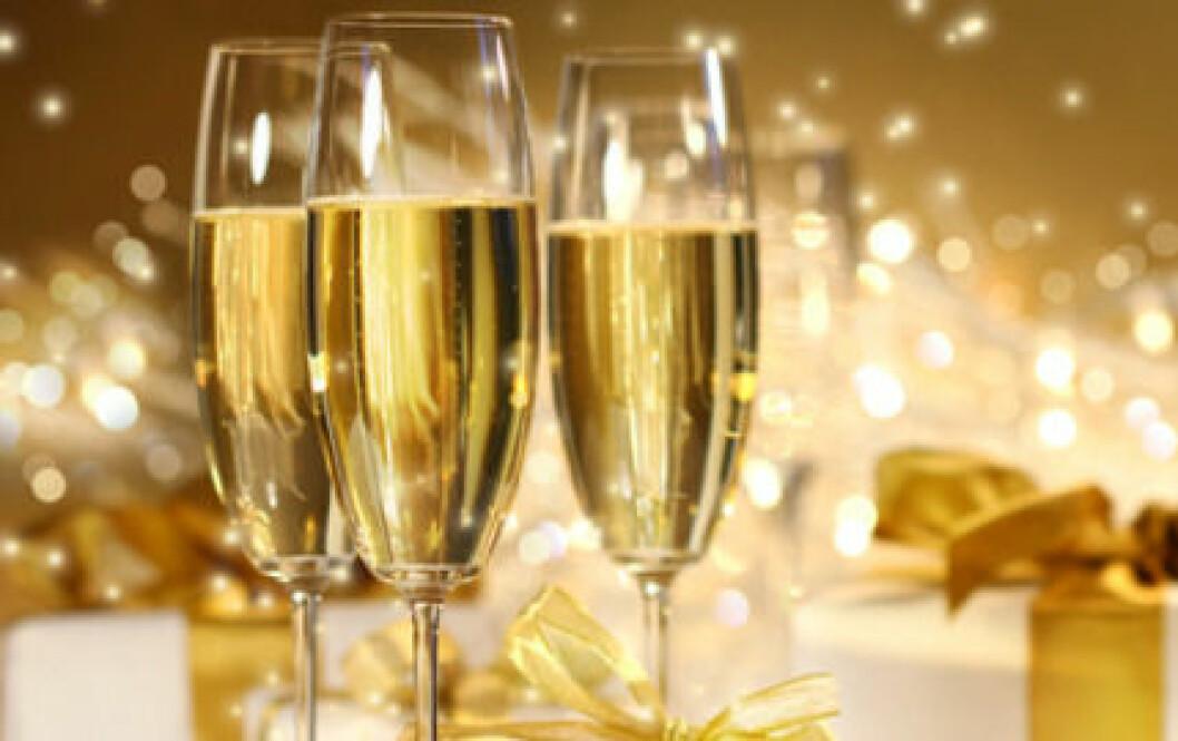 Champagne kan förebygga hjärtproblem.