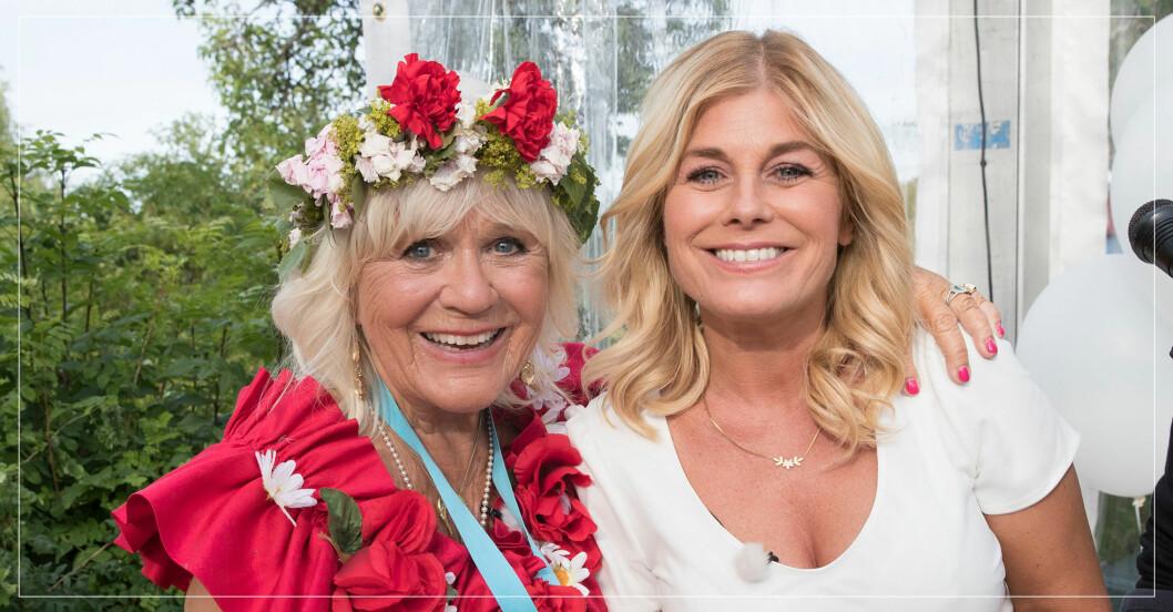 Christina Schollin om Pernilla Wahlgrens nya pojkvän Christian Bauer