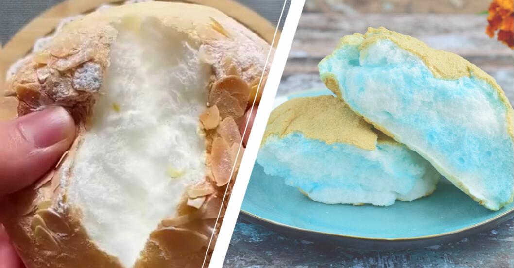 cloud bread eller molnbröd