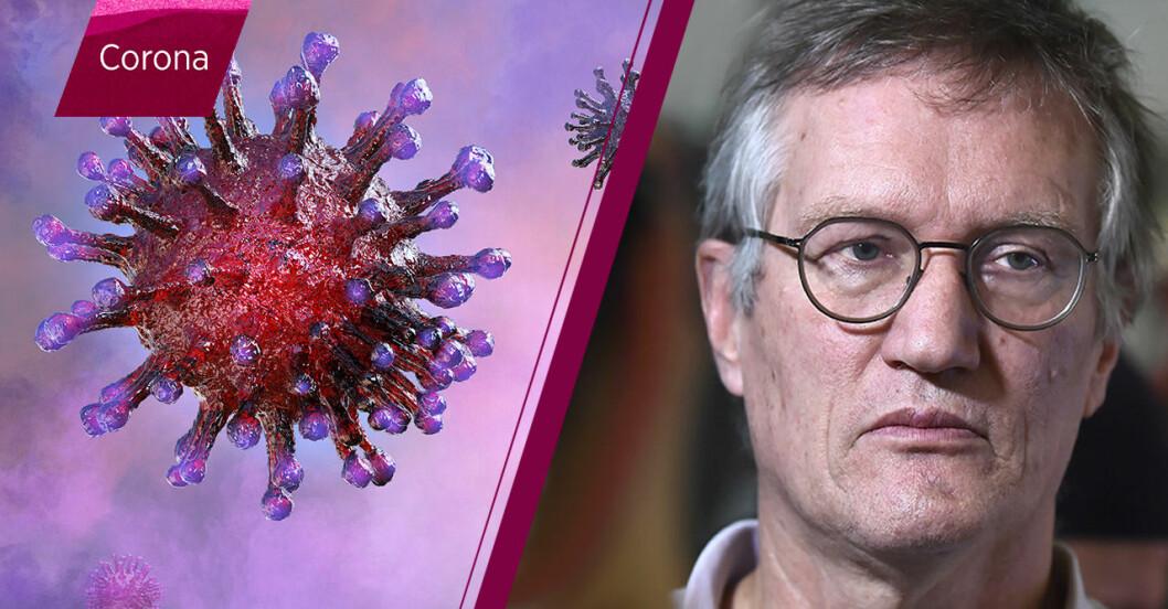 Anders Tegnell tror att coronasmittan når sin kulmen 5-6 månader efter utbrottet i Sverige.