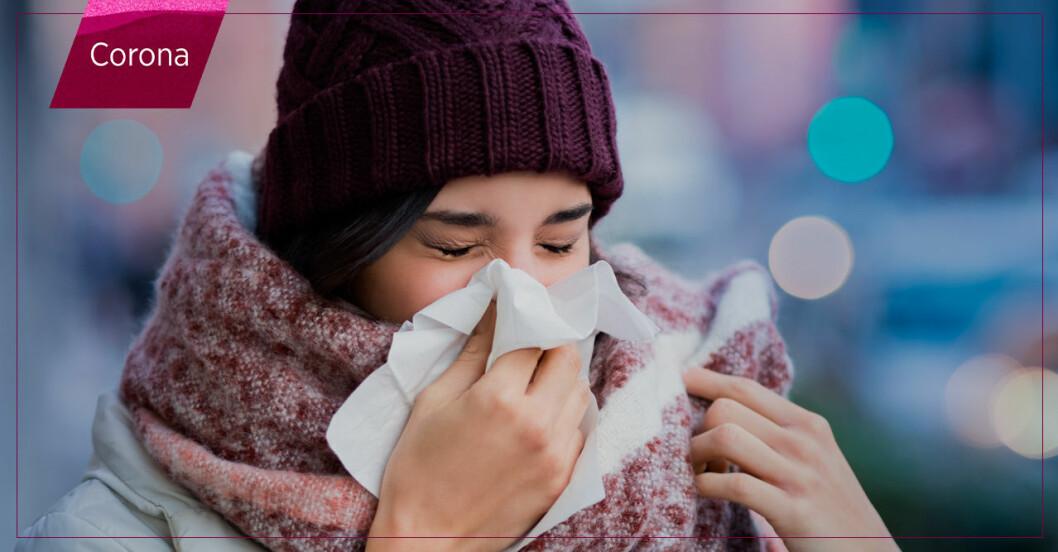 Coronaviruset sprids mer under vintern