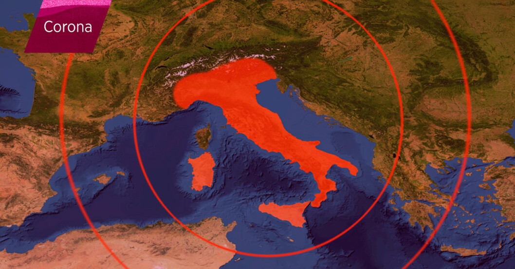 Corona: Detta vet vi om offren i Italien