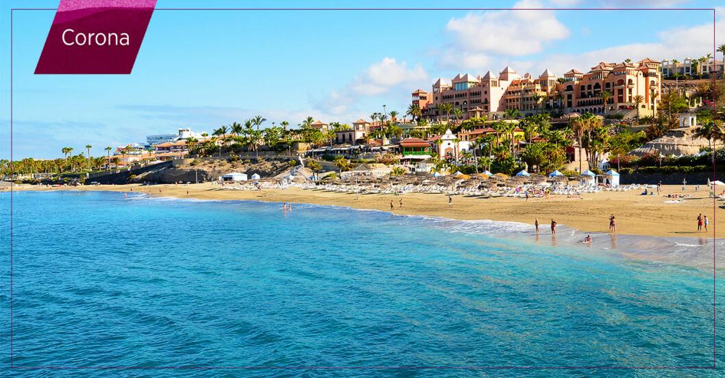 Teneriffa på Kanarieöarna där deltavarianten drabbar hårt