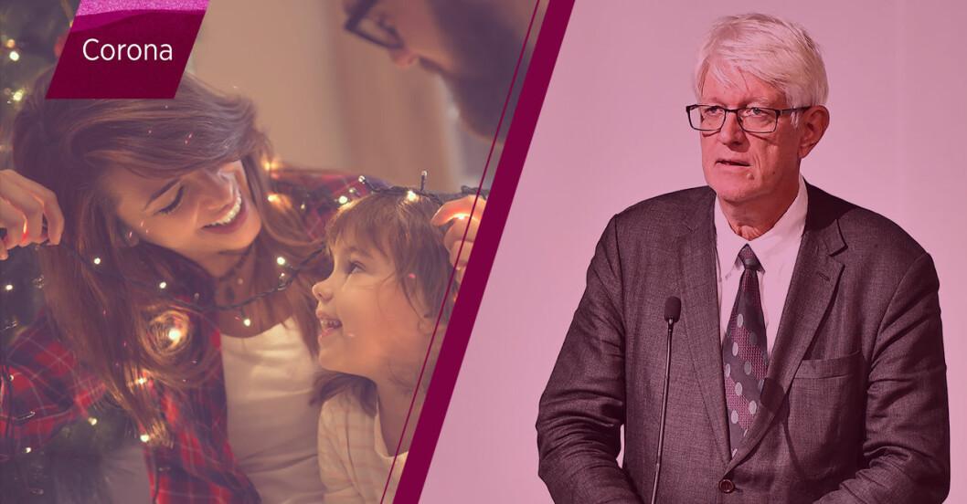 FHM om nya coronarestriktionerna inför jul och nyår