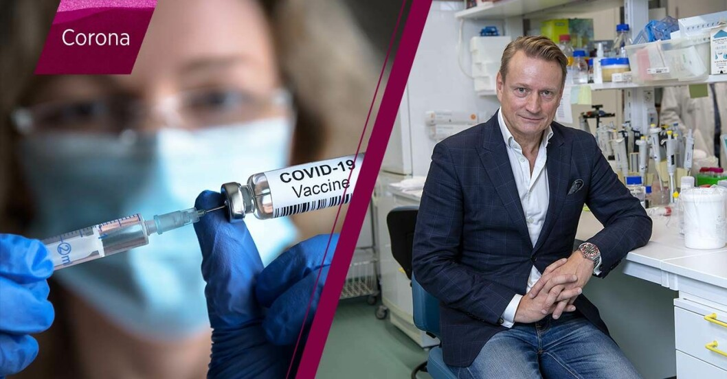 Coronavaccin och Matti Sällberg