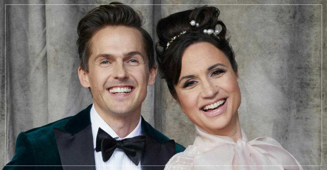 David Lindgren och Petra Mede leder Let's Dance 2021.
