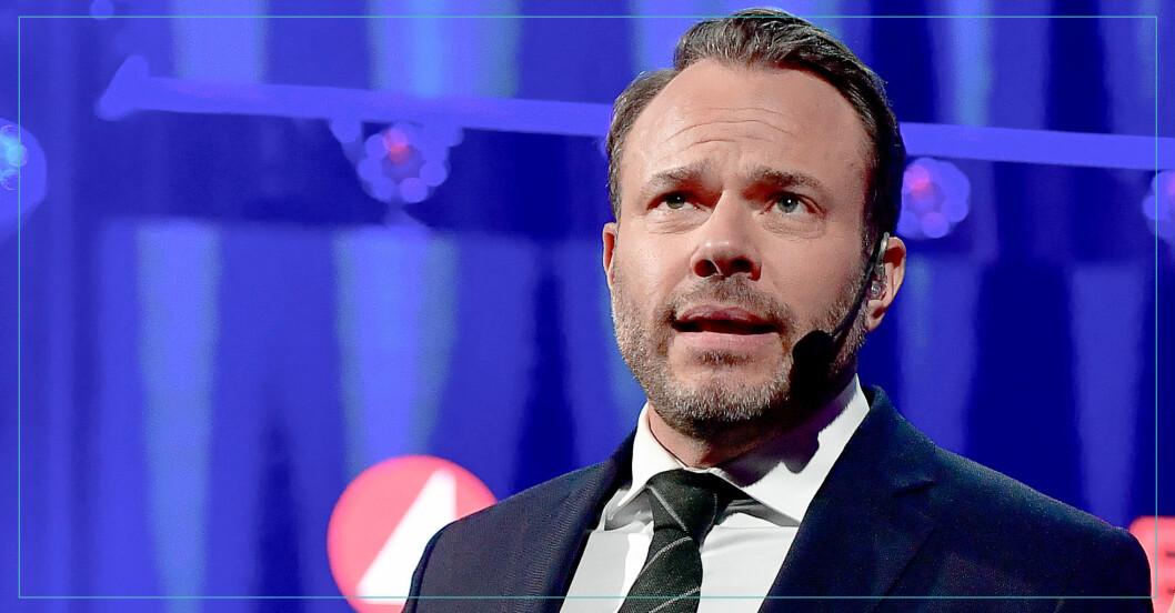 David Hellenius leder nu Masked singer på TV4.
