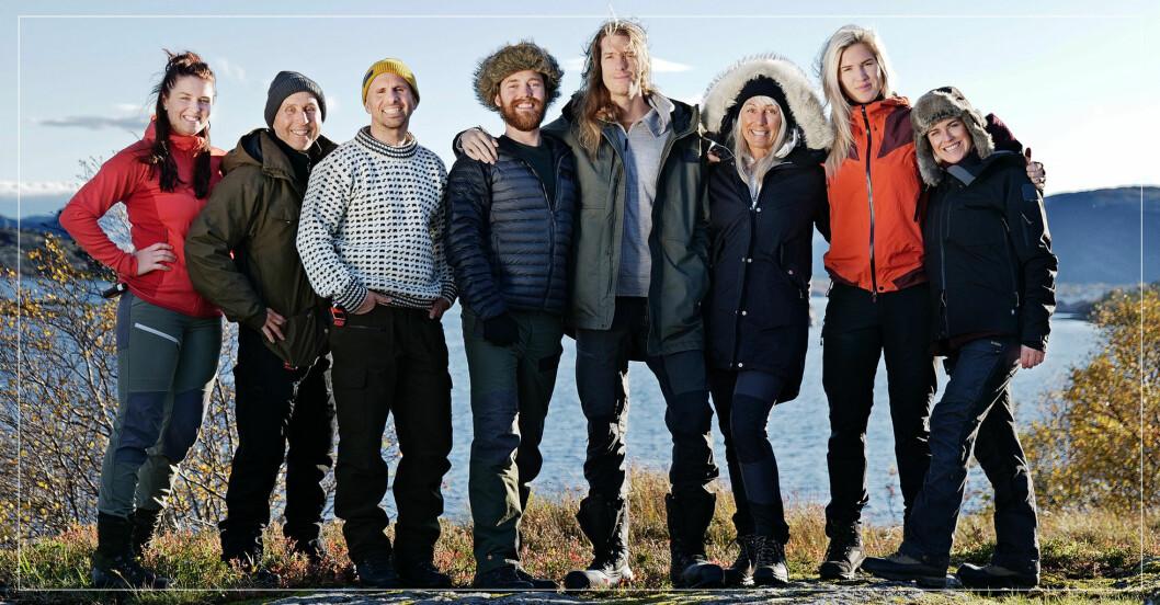 Deltagarna i Ensam i vildmarken 2021.