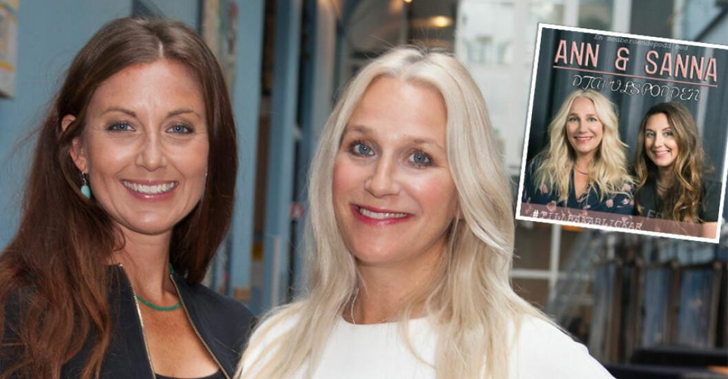 Sanna Lundell och Ann Söderlund gör nya Djälvulspodden ihop.