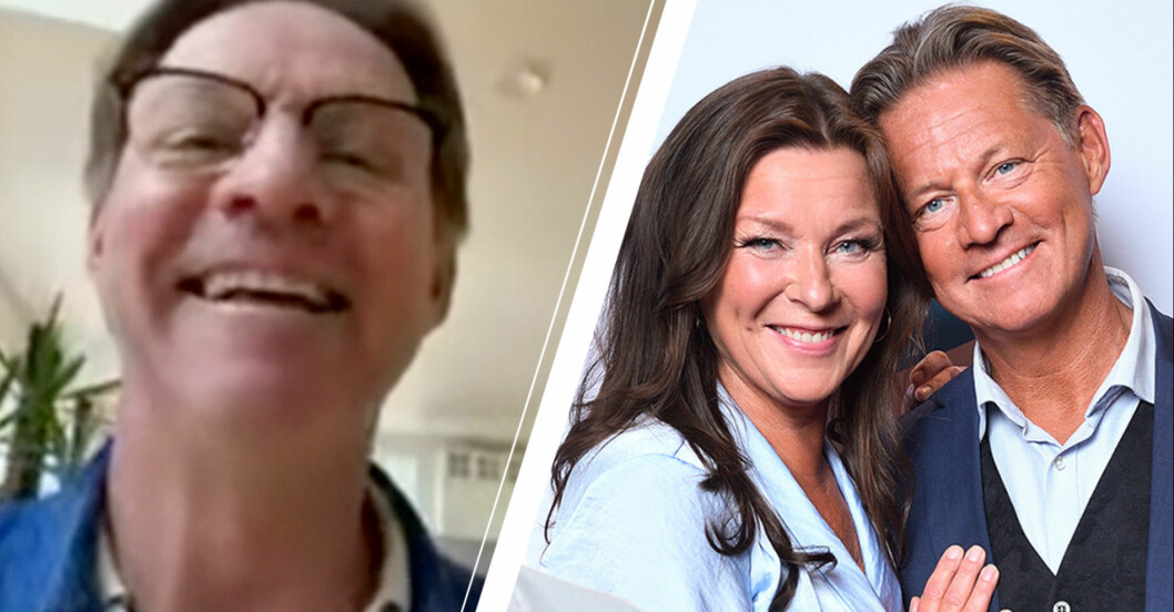 Doktor Mikael Sandström och Lotta Engbers nya hus.