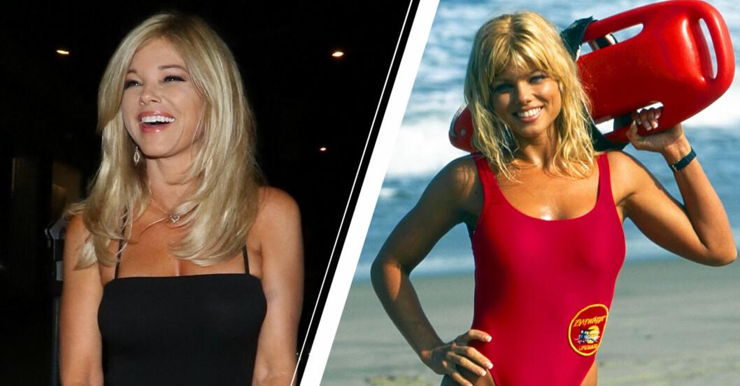 Baywatch-skådisen Donna D'Errico väcker starka reaktioner
