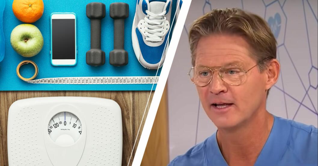 Doktor Mikael Sandström om att gå ner i vikt.