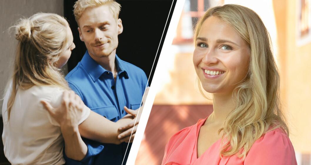 Elinor Sundfeldt och Lars Ekström i Gift vid första ögonkastet 2021.