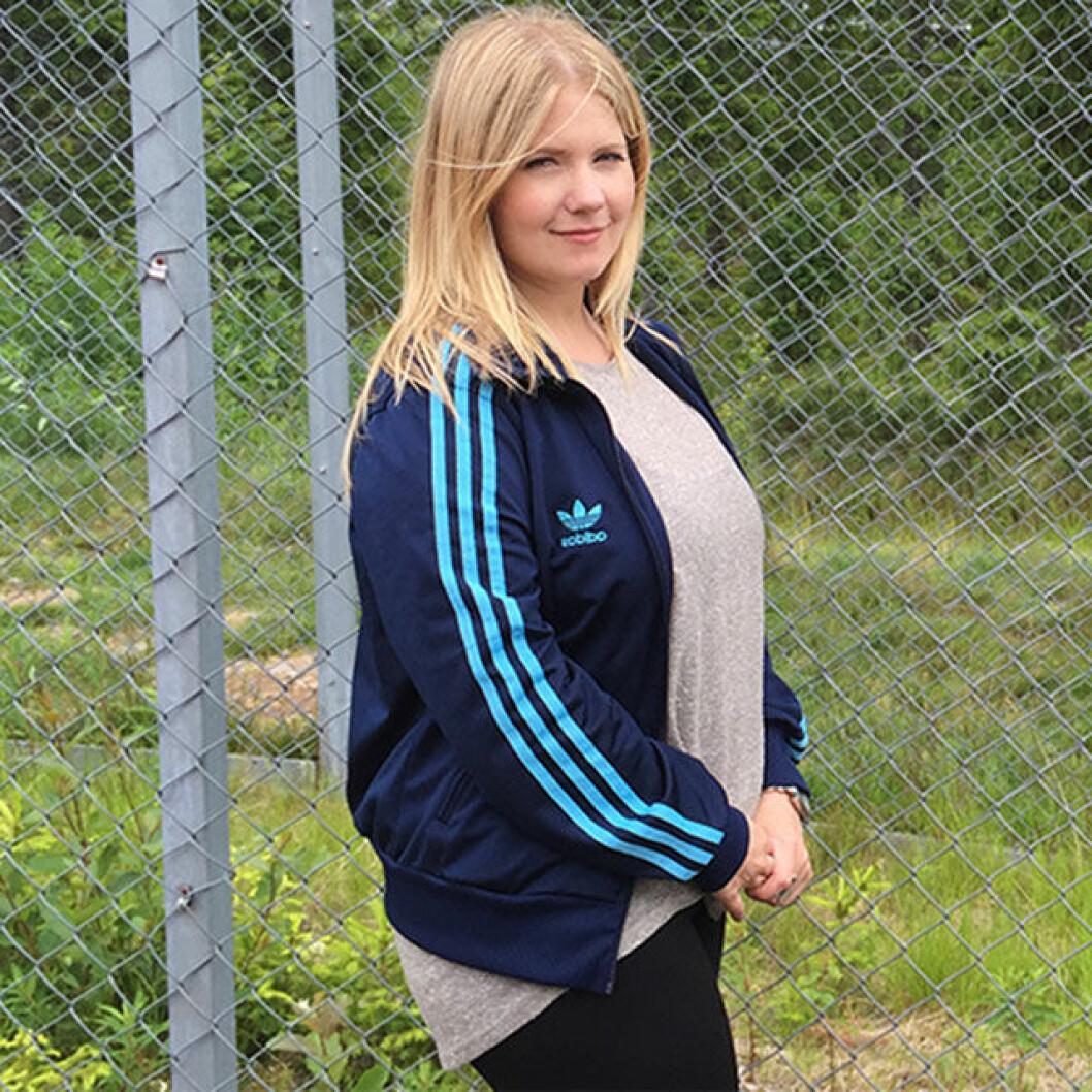 Emelie är 28 år gammal, 160 cm lång, och vägde 78 kilo innan hon lade om sin kost.