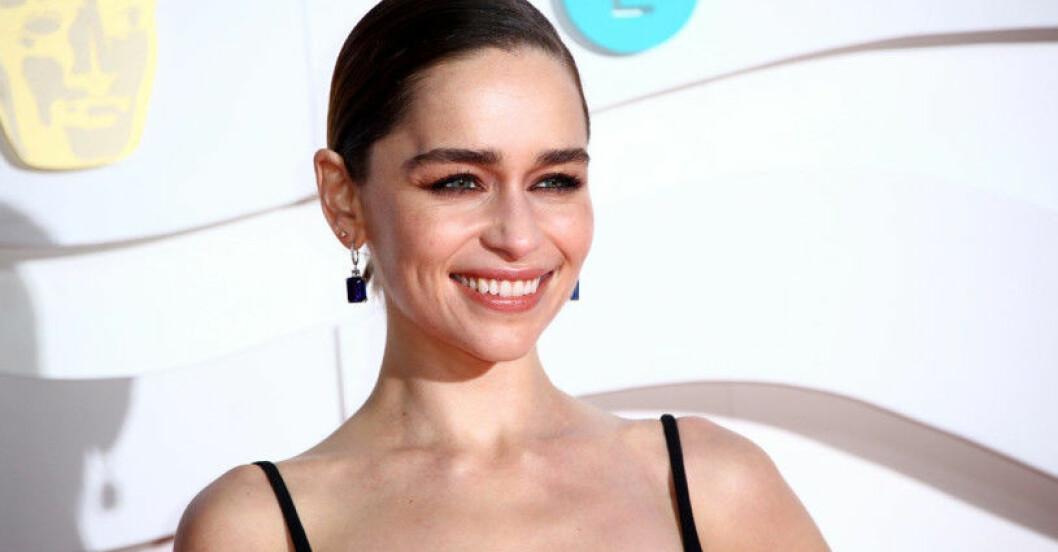 Skådespelaren Emilia Clarke