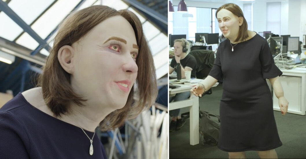 Emma, kontorsarbetare.